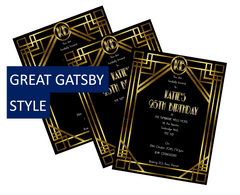 Great Gatsby Party Decorations and Accessories