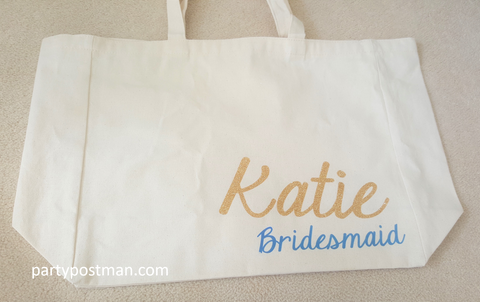 Bridesmaid Canvas Bag