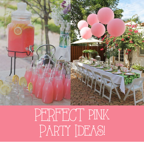 Pink Summer Party Ideas