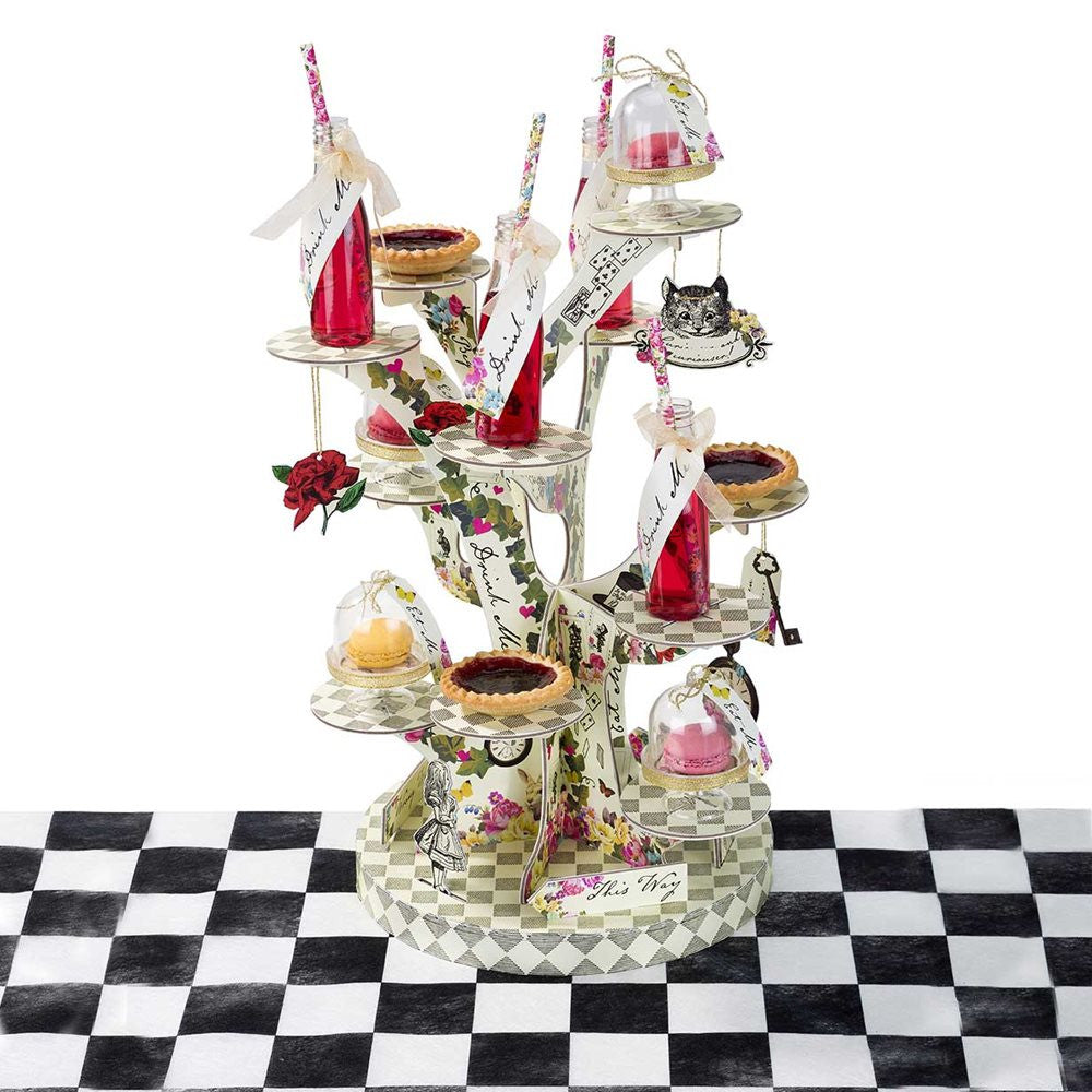 Alice in Wonderland Mad Hatter Cupcake Stand - The Party Postman
