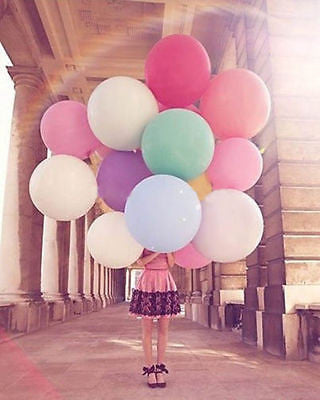 3 ft Pink Round Balloon - The Party Postman
