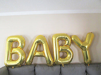 Giant BABY Foil Balloons - The Party Postman