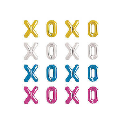 Giant XOXO Foil Balloons - The Party Postman