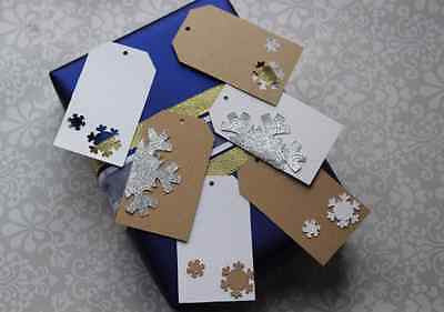 Mixture of Snowflake Tags - The Party Postman