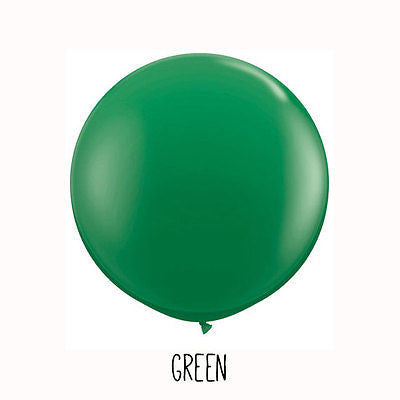 3 ft Green Round Balloon - The Party Postman