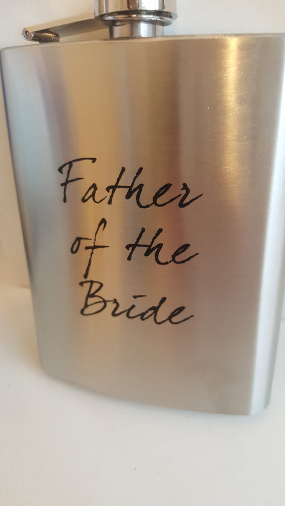 Father of the Bride Hip Flask - The Party Postman