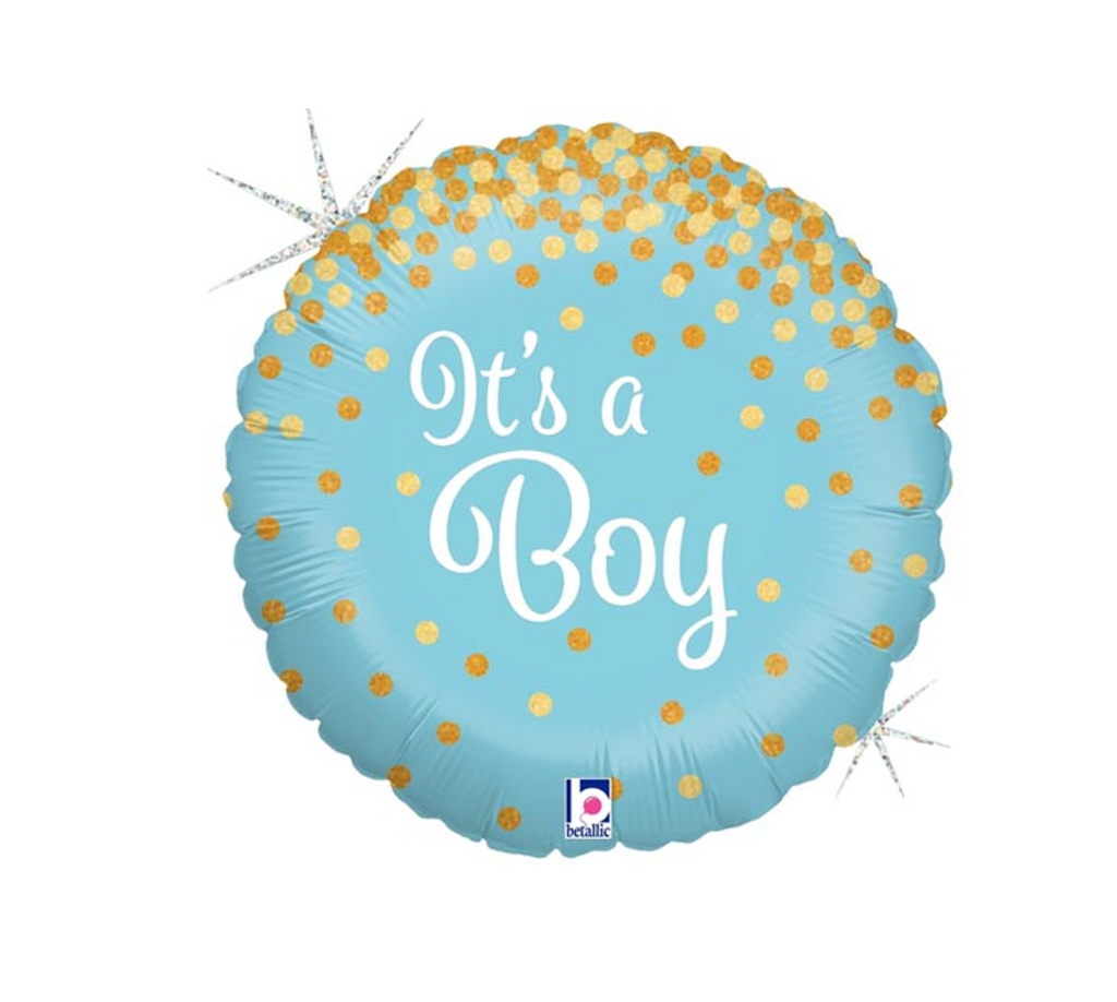 It's a Boy Foil Balloon and Balloon Bundles