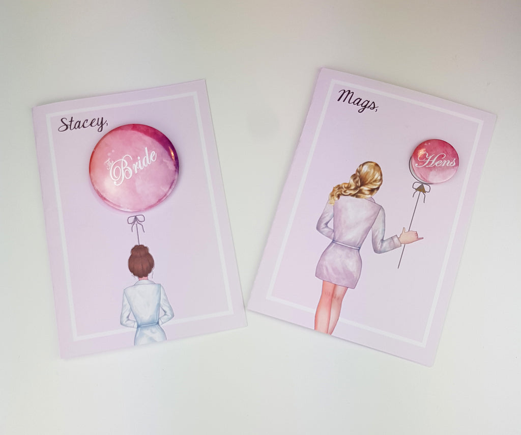 "Personalized ""Will you be my Bridesmaid"" Proposal cards with Badge customized to your requirements Ask Bridesmaids, Maid of Honor Card"