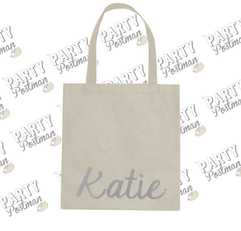 Party Postman Party Totes! Customised Canvas Bag for Gift or Bridesmaid Proposal