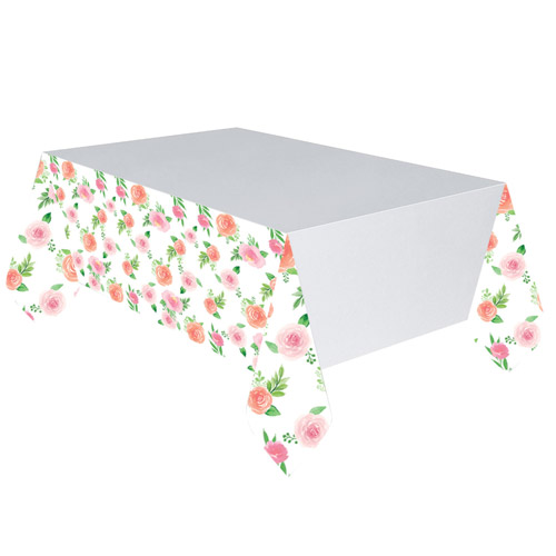 Gold Foil Sweet Baby Floral Tablecover