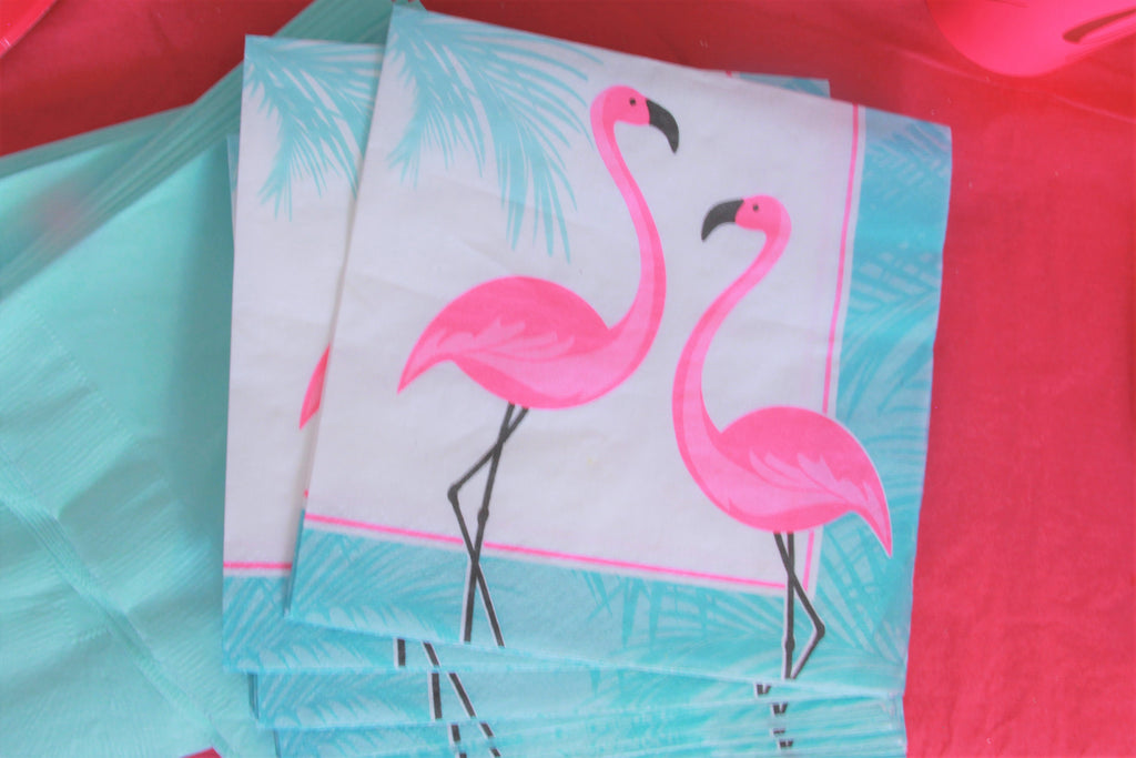 Paper Flamingo Napkins