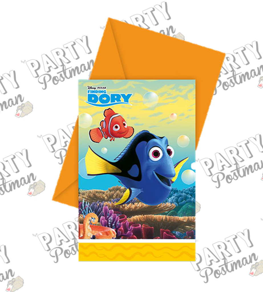 Finding Dory Party Invitations - The Party Postman