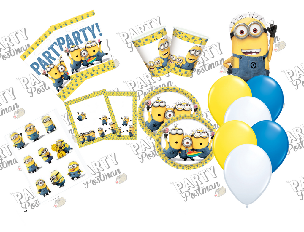 Minion Party Decoration Pack and Accessories - The Party Postman