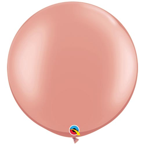 "30"" Rose Gold Round Balloon"
