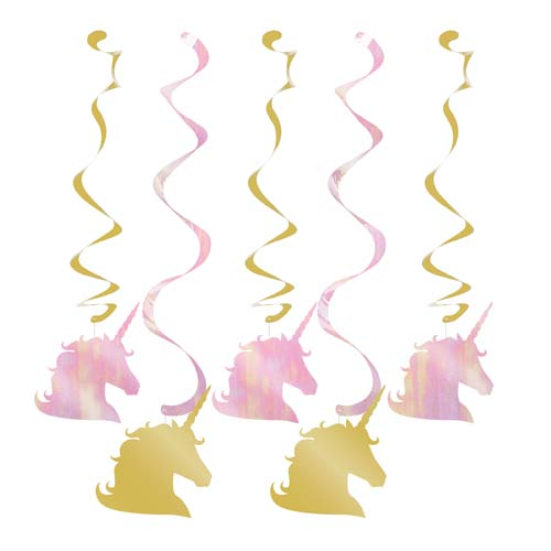 Unicorn Pastel Ceiling Decorations
