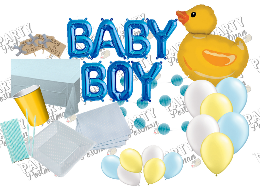 Baby Boy Party Pack in Blue - The Party Postman
