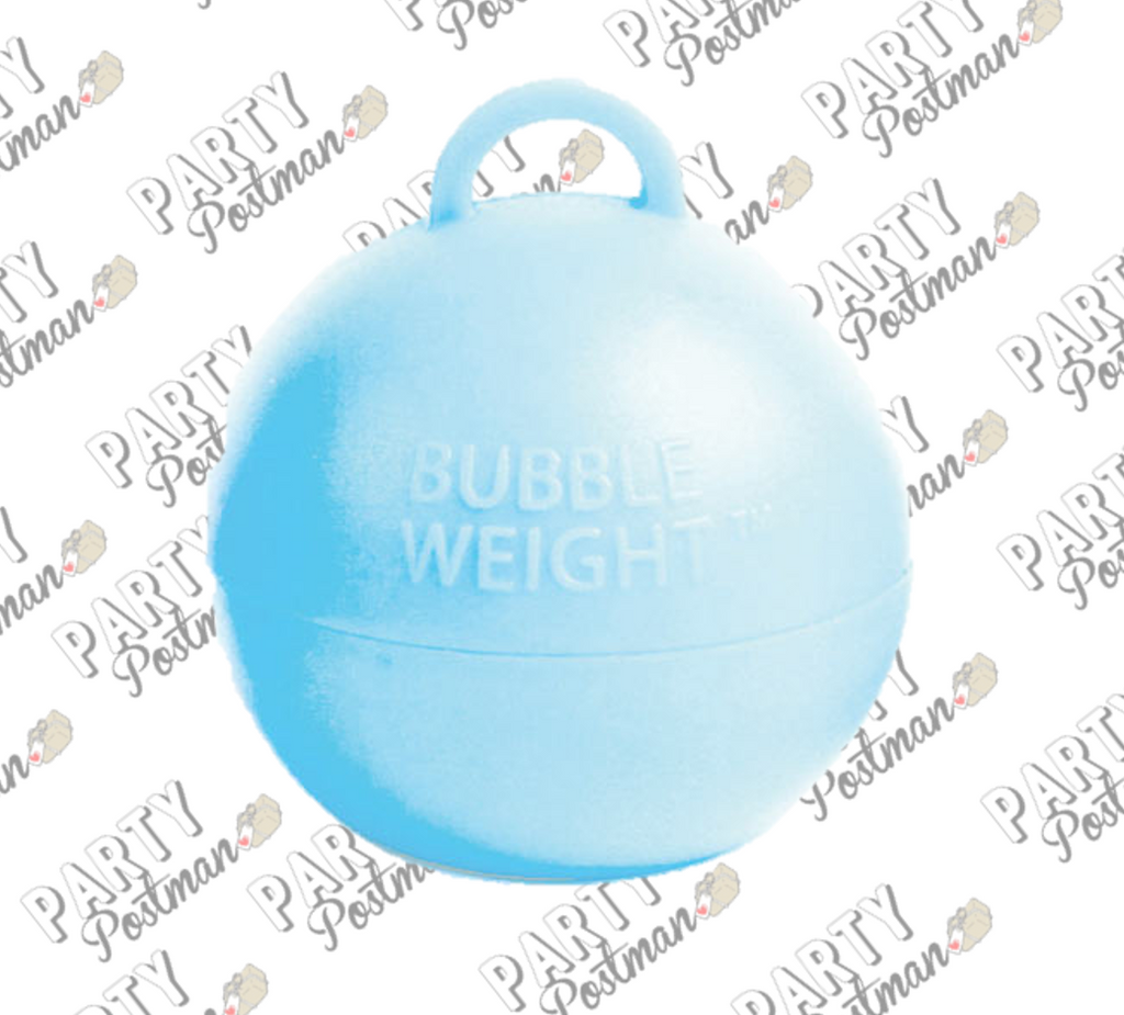 35g Blue Bubble Balloon Weight - The Party Postman