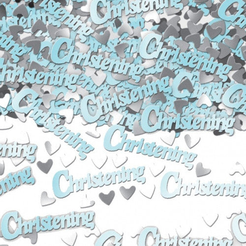 Christening Confetti in Blue - The Party Postman