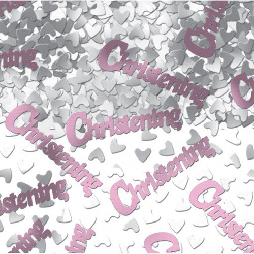 Christening Confetti in Pink - The Party Postman