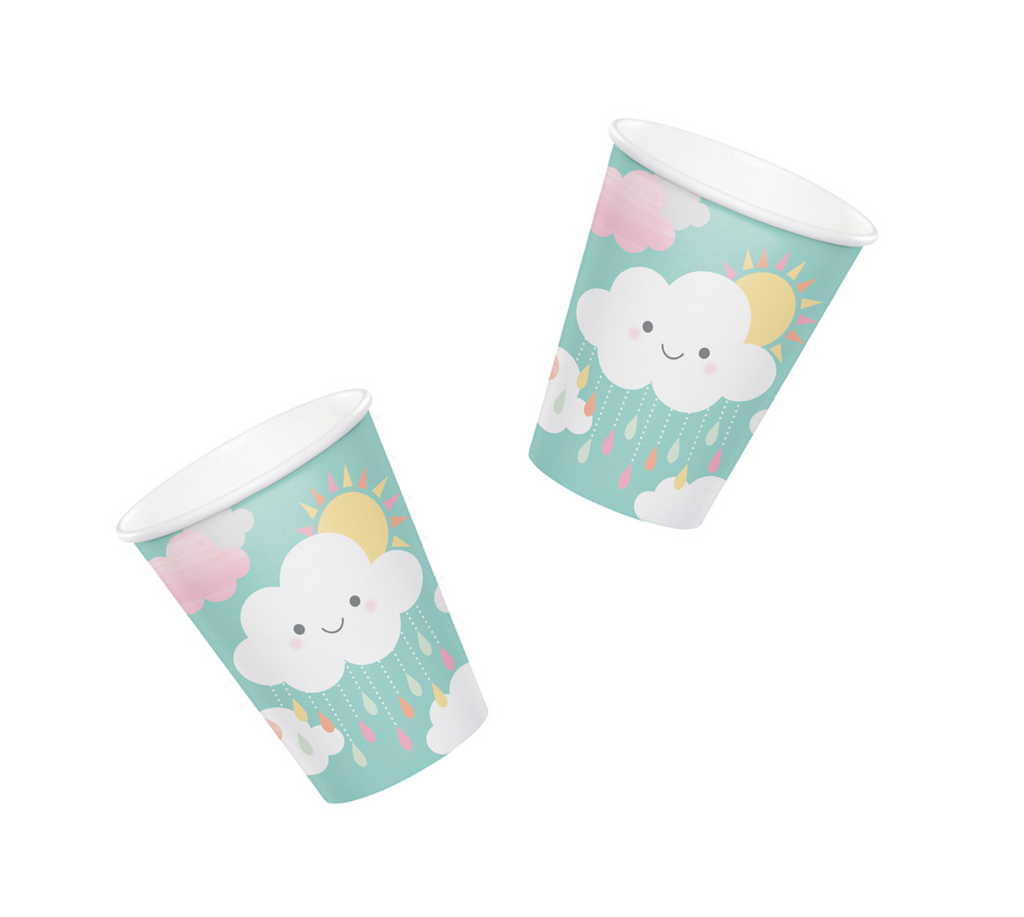 Cloud Baby Shower Cups