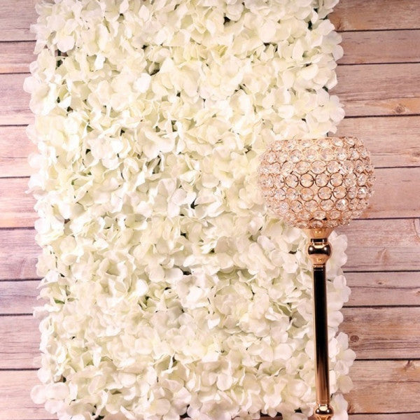 Cream Hydrangea Flower Wall Panels
