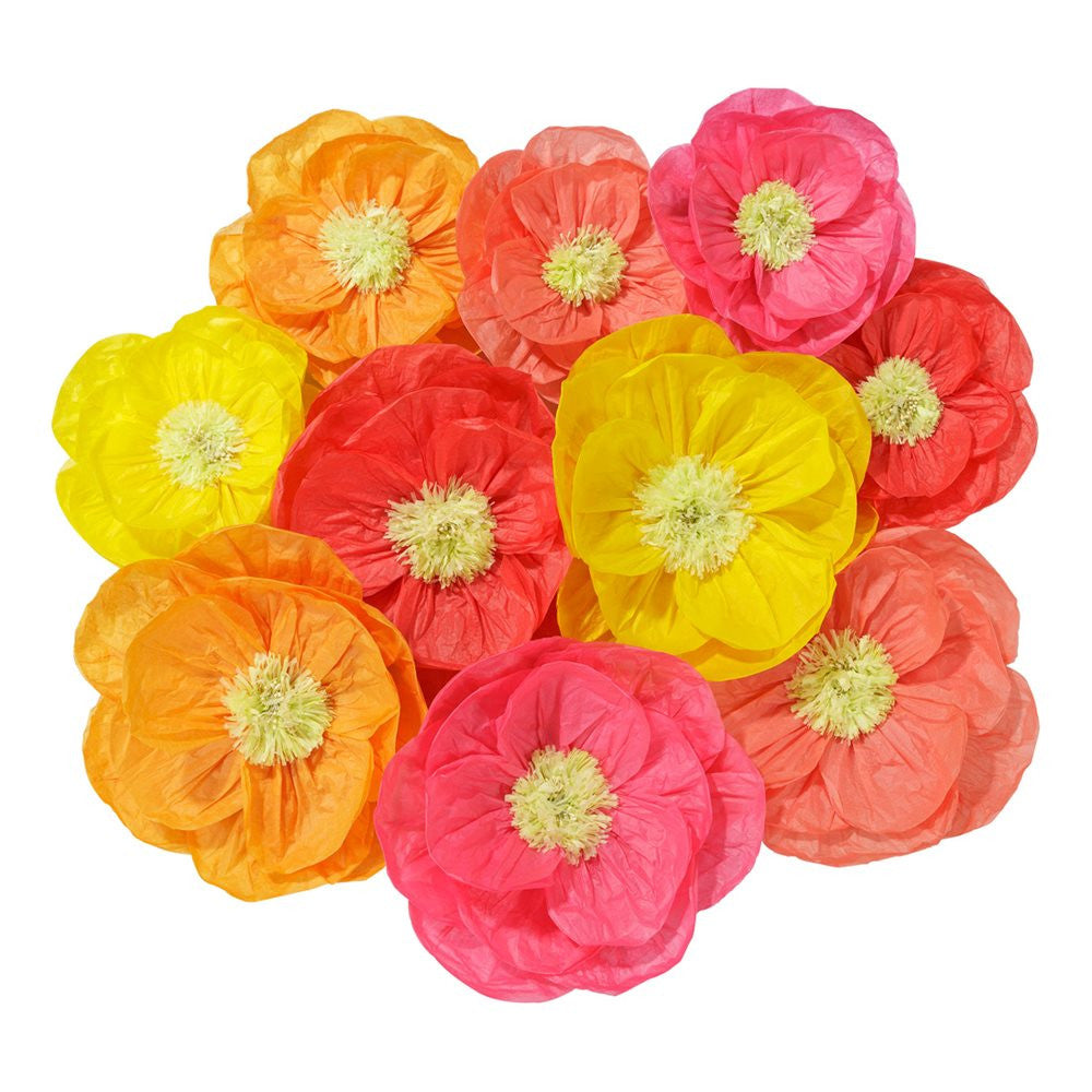 Giant Flower Wall Display Garland for Summer Wedding
