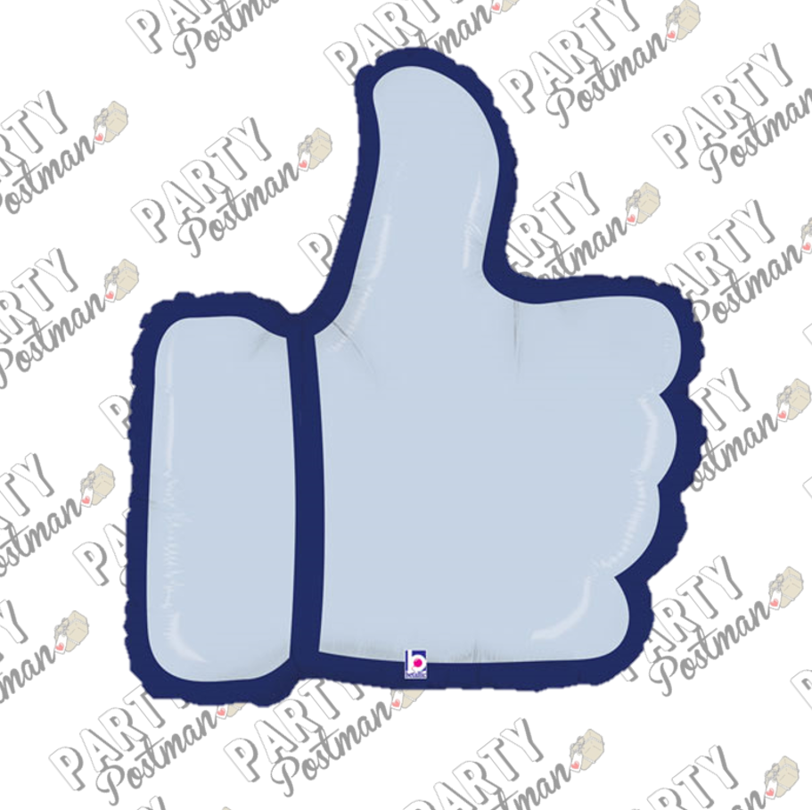 Facebook Like Foil Balloon - The Party Postman