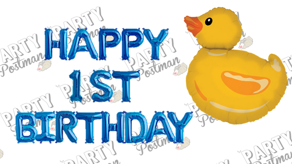 First Birthday Balloon Pack - The Party Postman