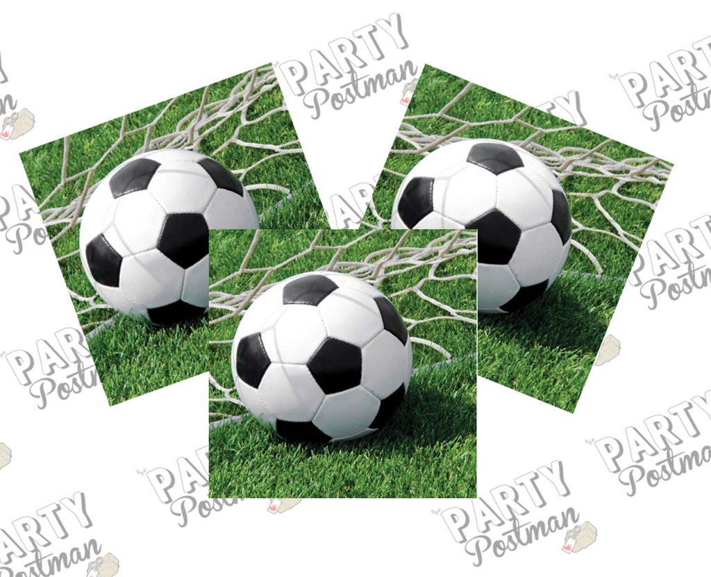 Football / Soccer Paper Napkins - The Party Postman
