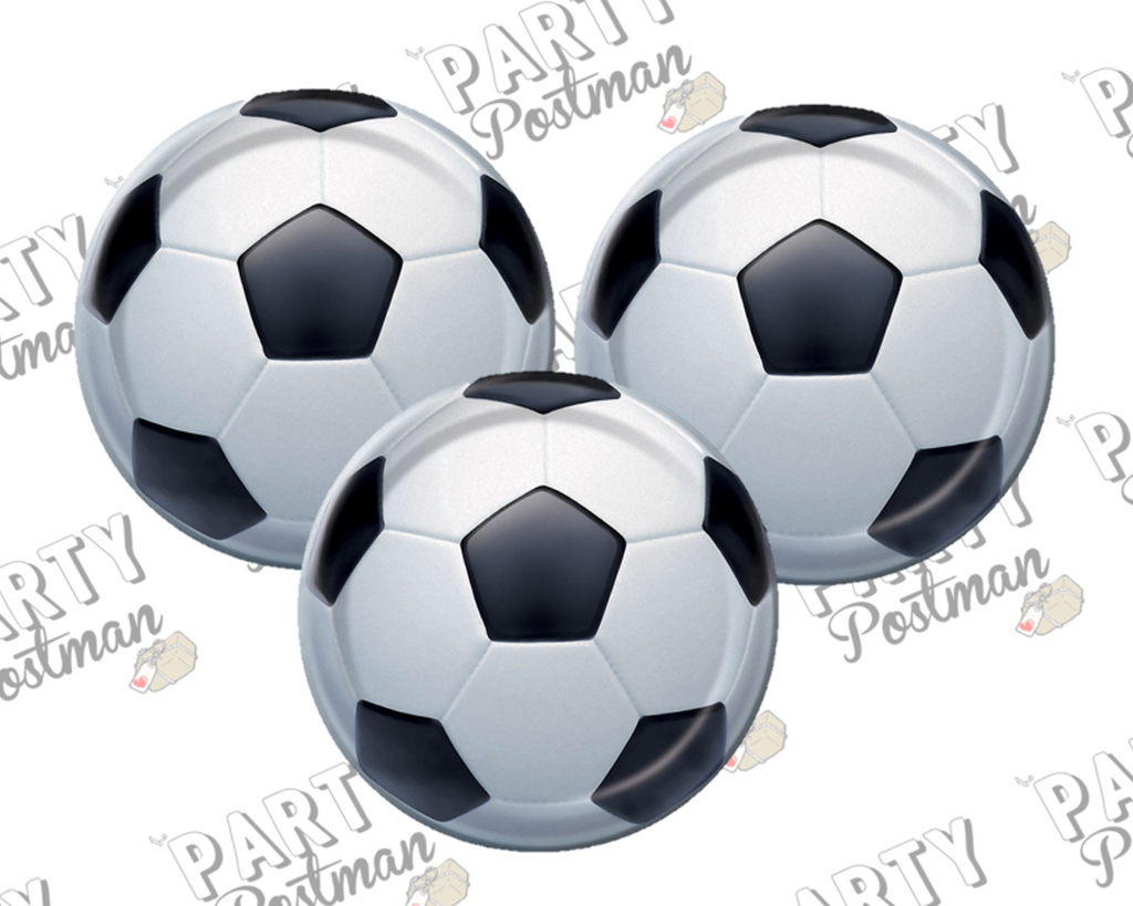 Football / Soccer Paper Plates - The Party Postman