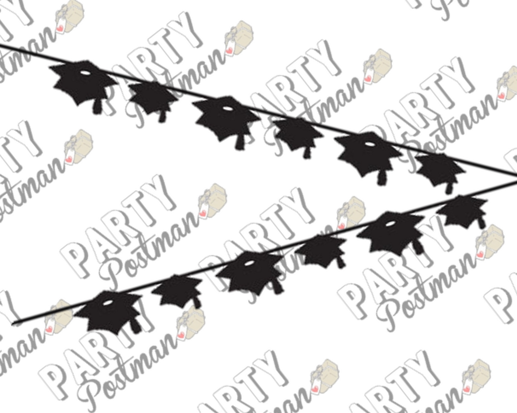 Graduation Ribbon Banner - The Party Postman