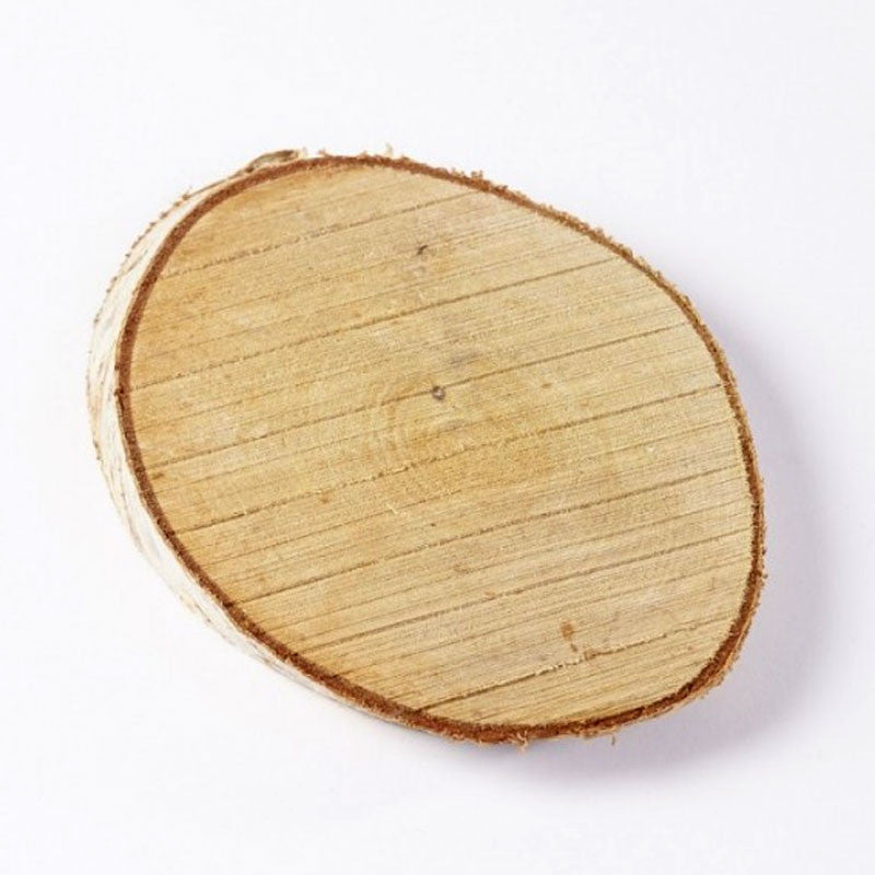 Small Birch Wood Slices (8cm - 16cm)