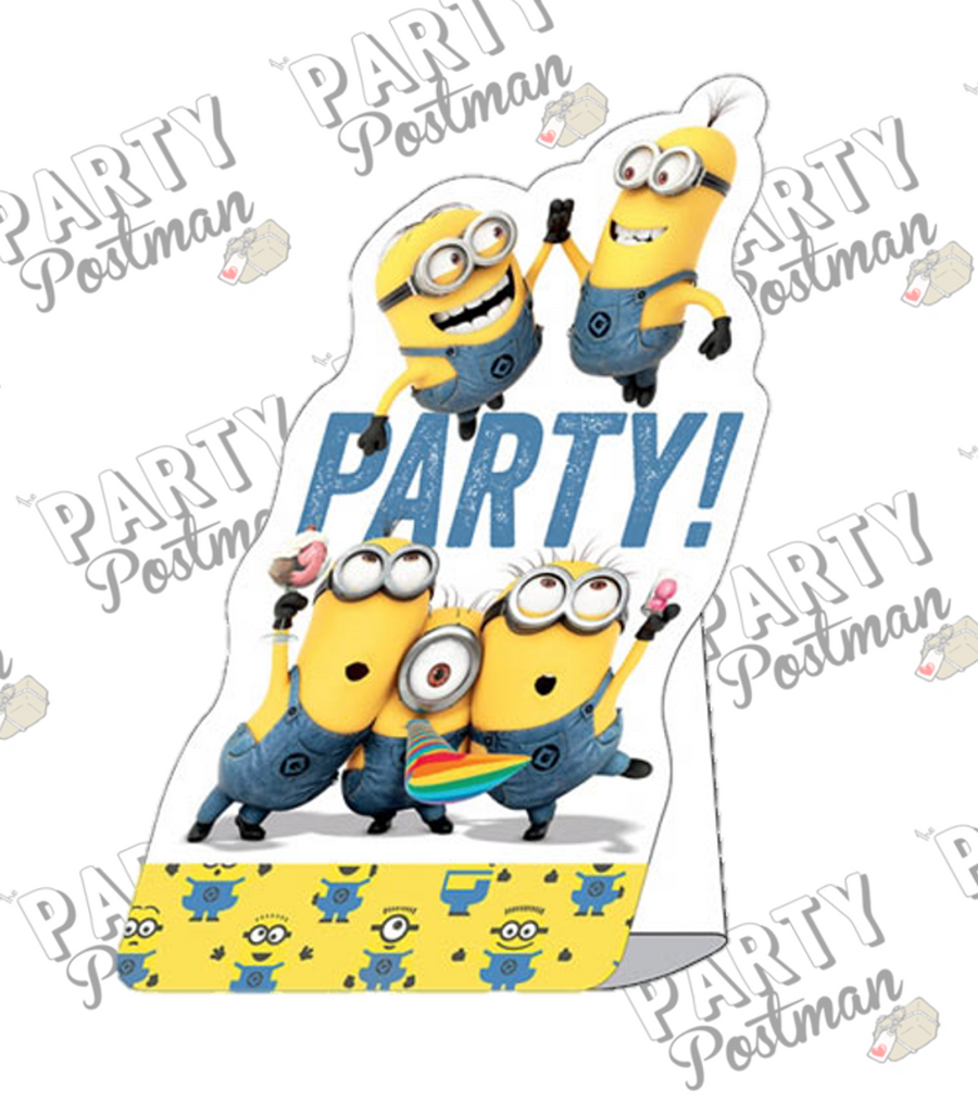 Minion Party Invitations - The Party Postman