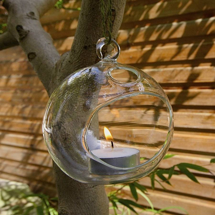 10cm Hanging Bubble Tealight - The Party Postman