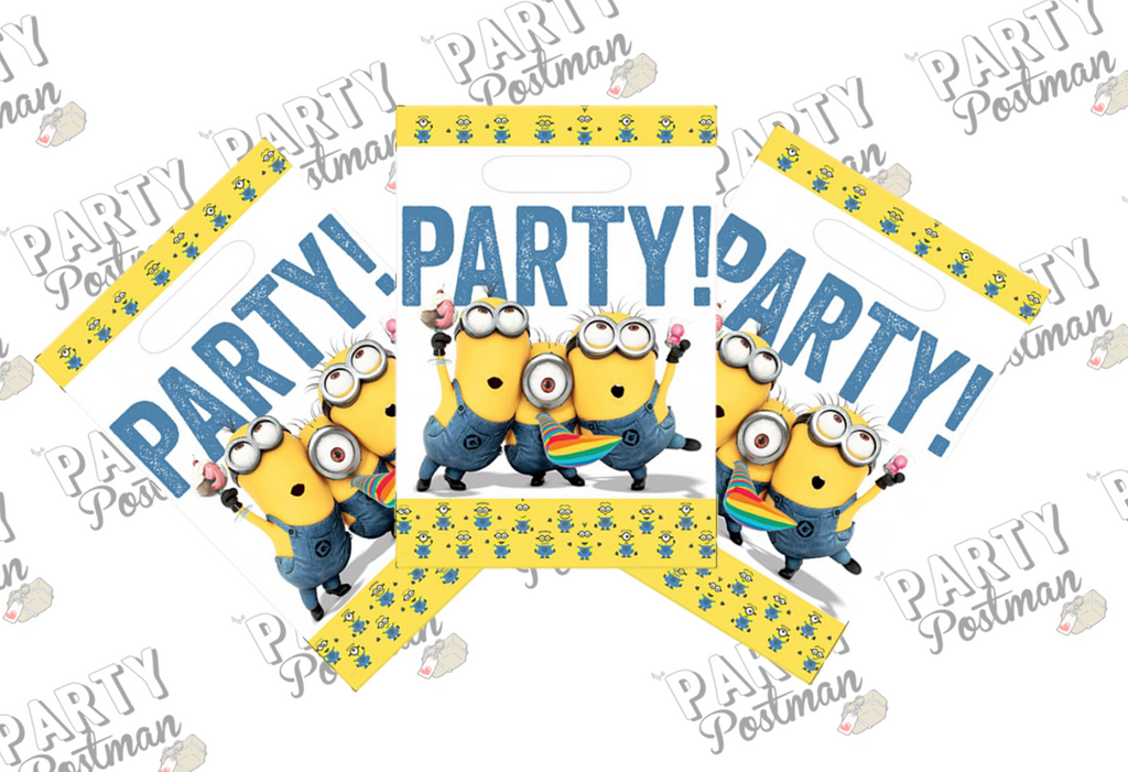 Minion Party Loot Bags - The Party Postman