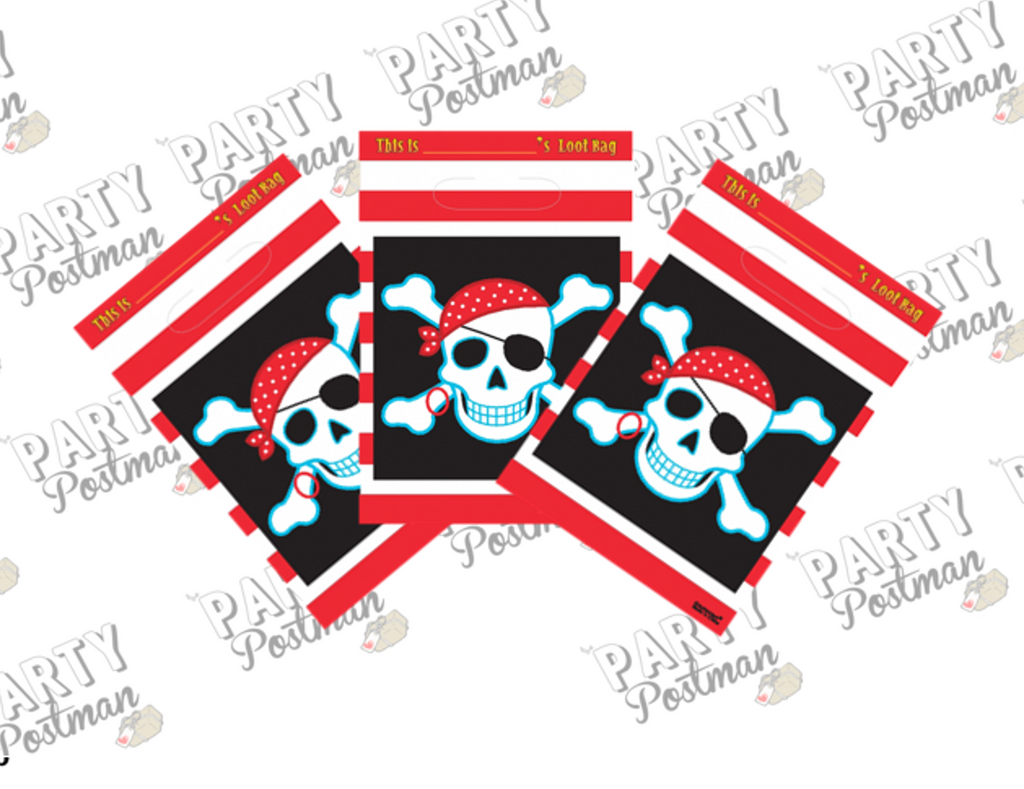 Pirate Party Loot Candy Bags - The Party Postman