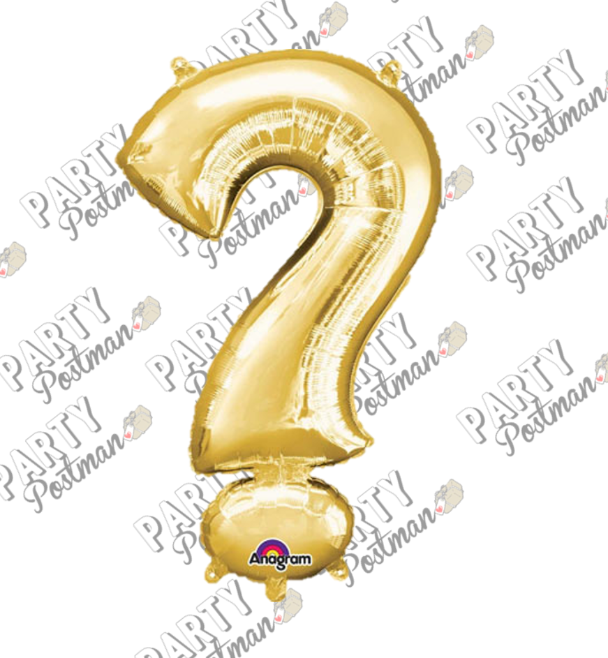 Question Mark Foil Balloon - The Party Postman