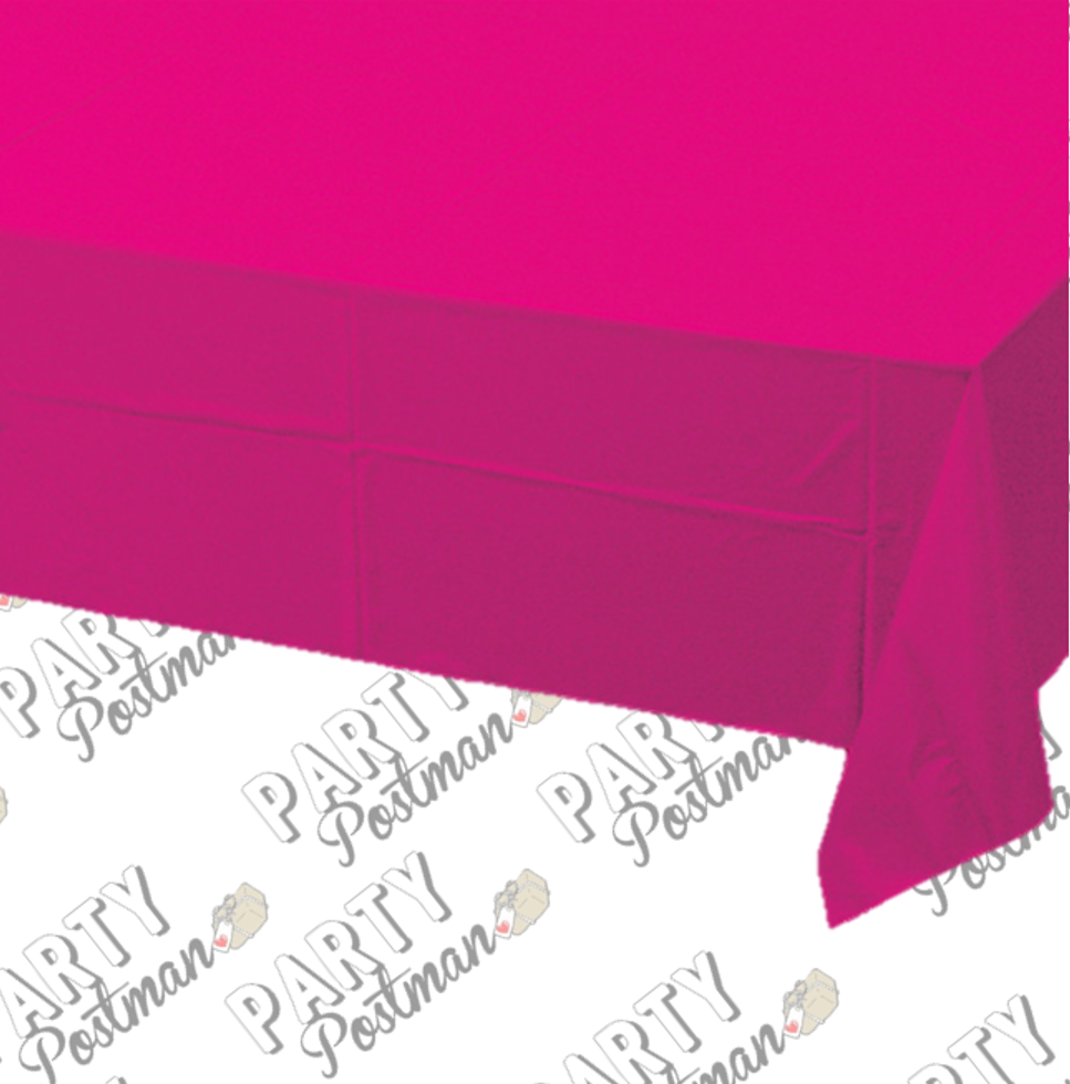 Hot Pink Table Cloth - The Party Postman