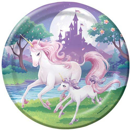 Unicorn Party Paper Plates