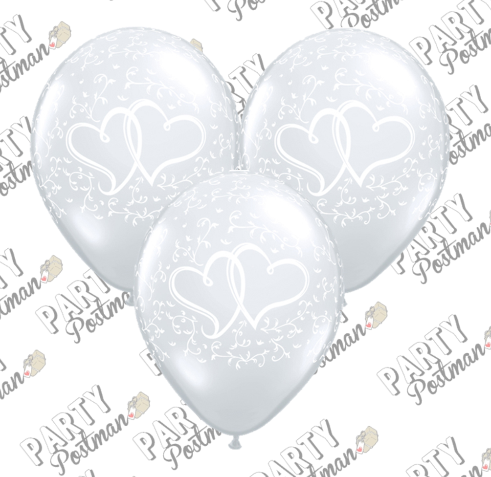 11 inch Wedding Anniversary Balloons - The Party Postman