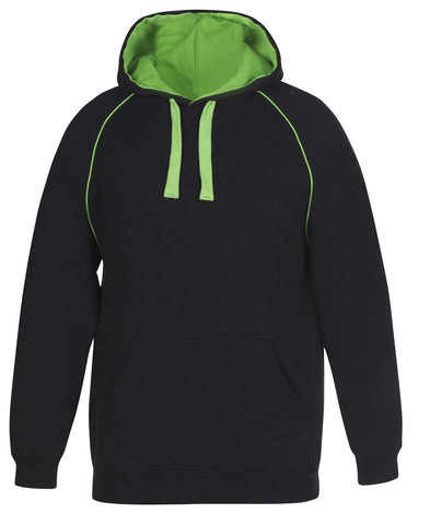 Adults Contrast Fleecy Hoodie FREE SHIPPING