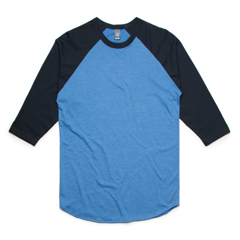 3/4 Raglan Tee Cotton Two tone FREE SHIPPING