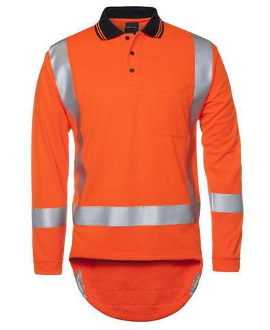 Hi Vis (D+N) L/S Non Cuff TTMC-W Traditional Polo FREE SHIPPING