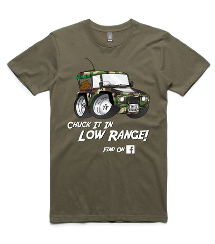 Chuck It In Low Range! T-Shirt FREE SHIPPING
