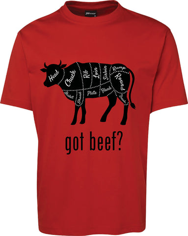 Got beef? Beef diagram T-Shirt FREE SHIPPING