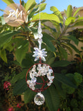 Icy Crystal Tree of Life Suncatcher FREE SHIPPING