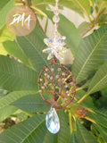 Cherry Blossom Tree of Life Suncatcher FREE SHIPPING