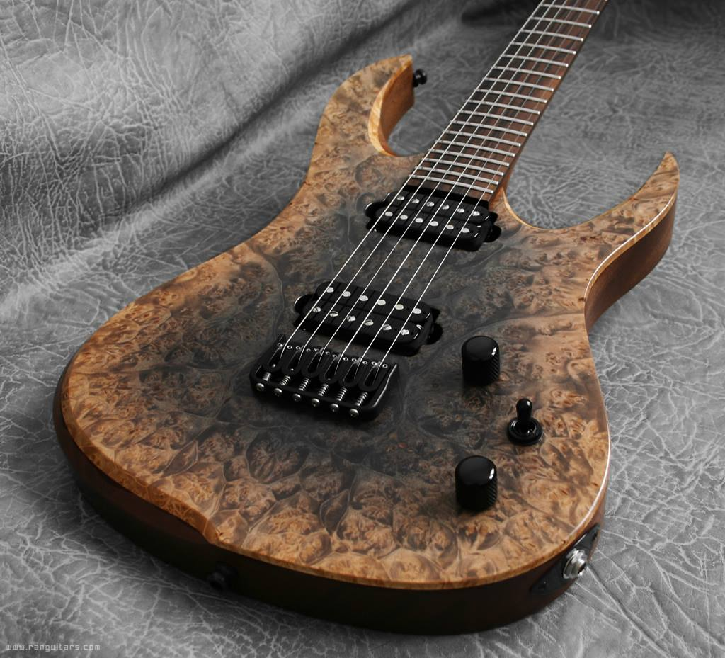 RAN Guitars Crusher 625. Scorched Earth.
