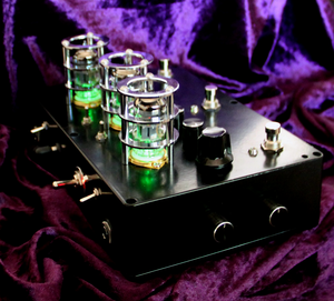 Bock Effects: Unholy Trinity. Valve Double Overdrive + Fuzz Hybrid Boutique Guitar Effects Unit