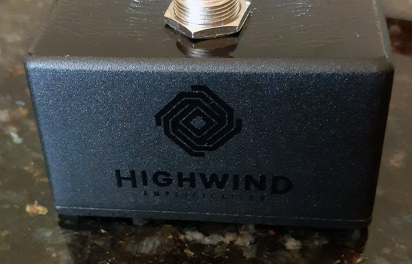 Highwind Amplification:  Direwolf Overdrive V2. High Quality Handmade Boutique Effects Unit.